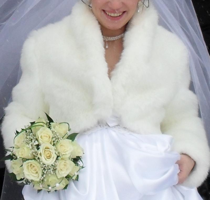 Шубки для свадьбы своими руками 40