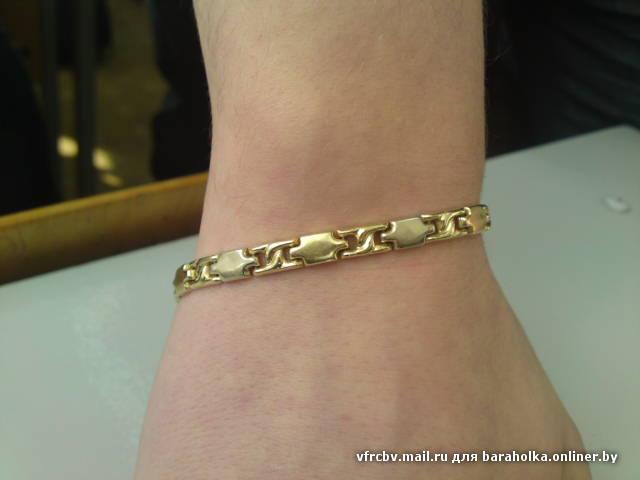 Золотые браслеты на руку фото