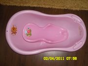 ванночка+горка для купания в отл.сост.