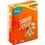 Купить подгузники (памперсы) Pampers Sleep&Play