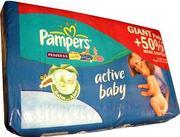 Купить подгузники (памперсы) Pampers Active Baby