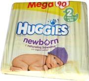 Купить подгузники (памперсы) Huggies Newborn