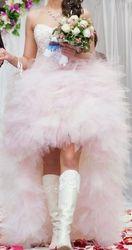Необычное свадебное платье для стильной девушки!