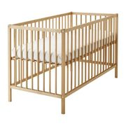 Кровать детская,  бук,  Сниглар,  ikea