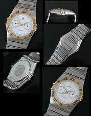 Omega Constellation Bezel Gold Original!