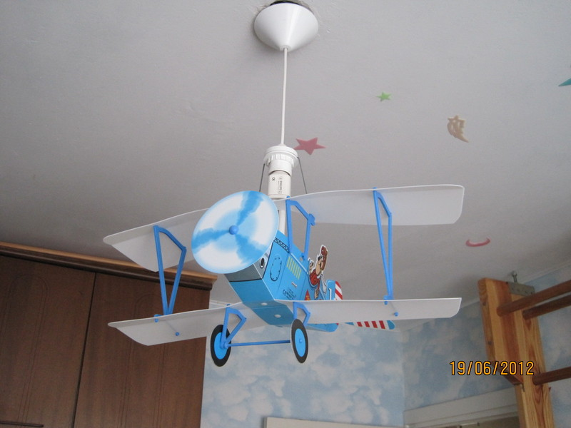 Люстру для детской комнаты своими руками 667