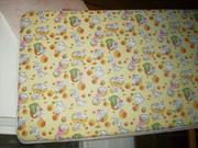 Матрас детский Соня. Идеальное состояние!+ упаковка подгузников Libero