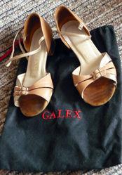 туфли для бальных танцев для девочки б/у Минск