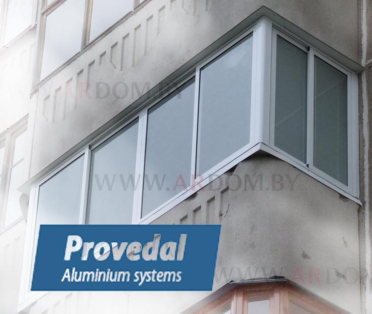 Купить алюминиевую раздвижную раму на балкон..