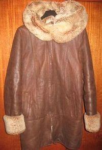 Беларусь, Минск. Продам, предлагаю - частное лицо: Женская одежда. Дубленка коричневая из натурального