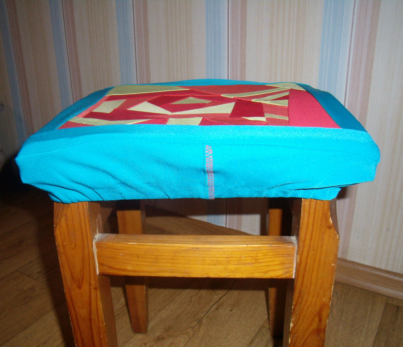 Сшить сидушку для табуретки 44