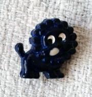 Оригинальная мини-брошка Львёнок. Новая