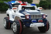 Детский электромобиль JEEP AUTO полицейский внедорожник. Модель 2013 г