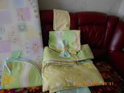 комплект в кроватку польский + матрас кокосовый