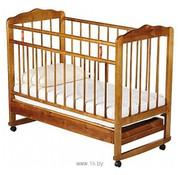 Детская деревянная кроватка с ящиком для белья Женечка-4 (новая)