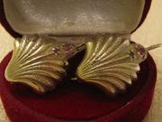 серебрянные серьги советской 925 пробы