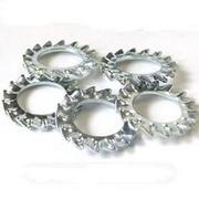 Шайба DIN 6798 A2 (стопорная с внешними зубцами,  нержавеющая сталь)