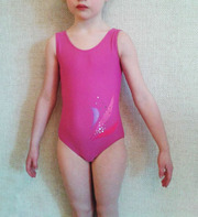 продам купальник для спортивной гимнастики малиново-фиолетовый