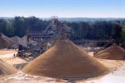 Песок сеяный высшего класса мытый самосвалом по 10-25 тонн. Доставка.