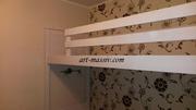 Двухъярусная кровать с декоративной резьбой 2