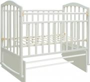 детская кроватка АМЕЛИ ДИПРИЗ белого цвета