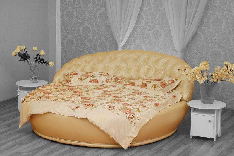 Круглые кровати, фото и цены