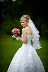Свадебное платье. Ручная работа