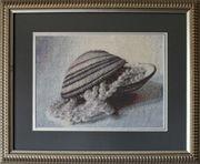 Картина «Очарование жемчуга», ручная работа,  вышивка.