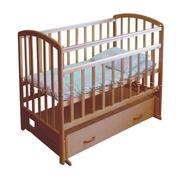 Продам новую детскую кроватку (+ящик для вещей) и новый матрас под нее