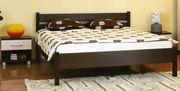 Двухспальная кровать с ортопедическим основанием