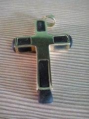 крест золото -смола