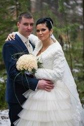 великолепнос свадебное плать42-44р