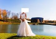 Свадебное стильное платье