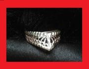 шикарное  кольцо  диадема  серебро