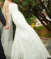 Продам очаровательное свадебное платье 2014 года