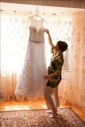 Свадебное платье 42-44размера