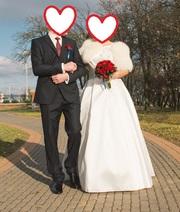 Свадебное платье размер 52 рост 170-175