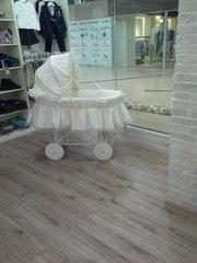 Детская кроватка;  Италия;  Хлопок