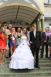 наряды молодоженов к бракосочетанию