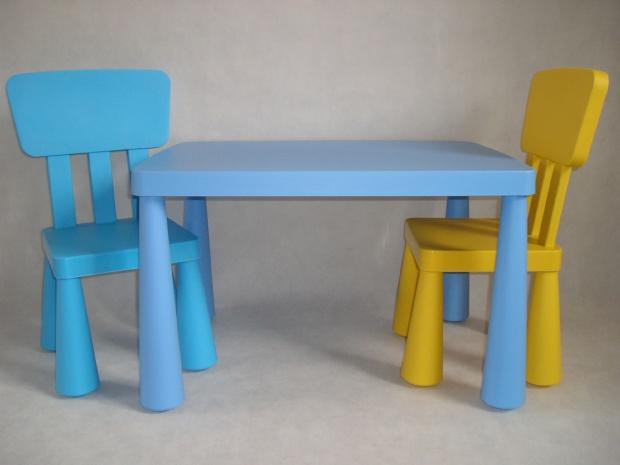 продам стол и стул детские икеаikea маммут купить стол и стул