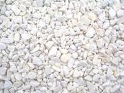 Мраморная крошка белая и серая,  цветная в мешках