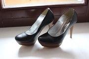 Туфли новые черные 36 размера