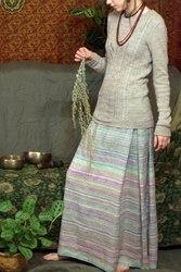Длинная юбка. 100% лен. новая. 40-42 размер.