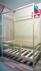 Кровать односпальная с балдахином (ОД 8.0)
