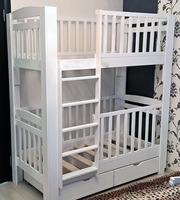 Двухъярусная кровать с балясинами №2