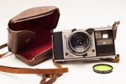 Старые пленочные фотоапараты и оптику
