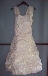 Платье с золотым отливом