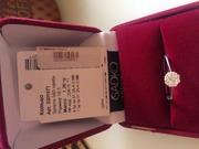 Кольцо с бриллиантами для любимой девушки,  женщины...себя.