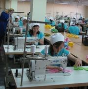 Пошив оптовых и мелкооптовых партий швейных изделий