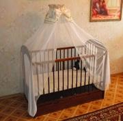 СРОЧНО продам детскую кроватку